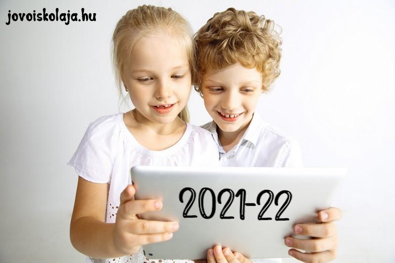 A tanév rendje 2021-2022