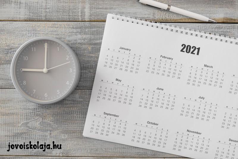 2021 hány napos